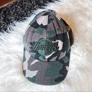 NEW ERA | Lakers Hat Camo Green Camouflage Cap
